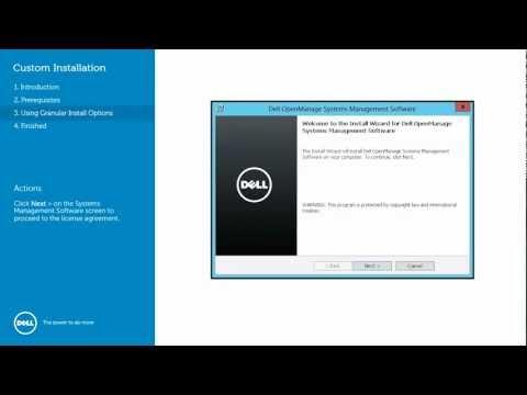 Dell OpenManage Server Administrator - Windows Granular Installation