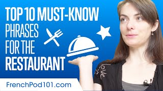 Top 10 Must-Know Vocabulary for the Restaurant