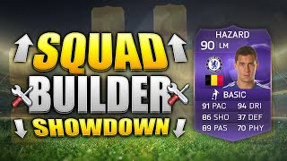 FIFA 15 SQUAD BUILDER SHOWDOWN!!! AWESOME PURPLE HAZARD SQUADS!!! Hero Hazard Squad Building Duel
