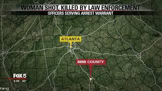 Woman shot, killed by law enforcement in Bibb County