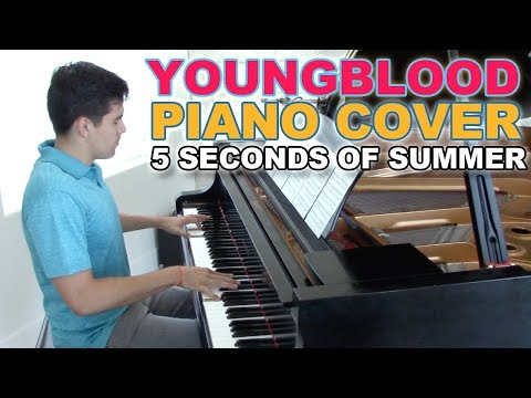 """""""Youngblood"""" - Piano Cover + Sheets - 5SOS   George Vidal"""