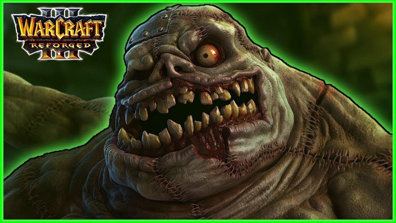 War in the Plaguelands Reborn: Naxxramas's Abominations | Warcraft 3 Reforged (LB)