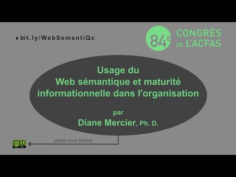 Usage du Web sémantique et maturité informationnelle