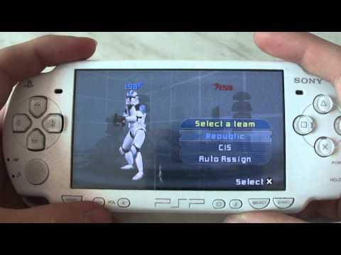 STAR WARS BATTLEFRONT 2 ON PSP