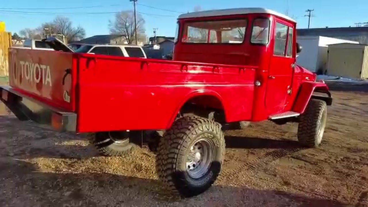 1966 Toyota FJ45 Pickup Restored