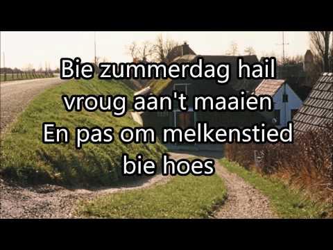 't Het nog nooit zo donker west   Ede Staal; Lyrics