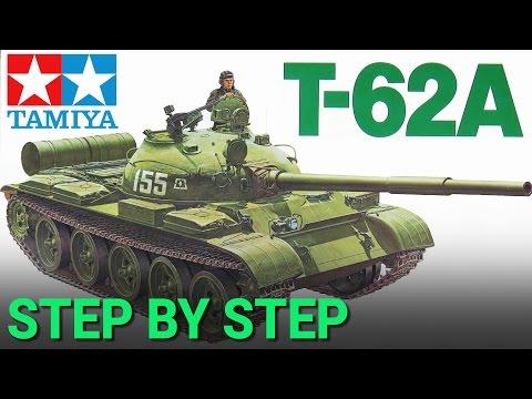 [1] 1/35 T-62A Russian Tank [TAMIYA] - Step By Step Build / Armado Paso A Paso