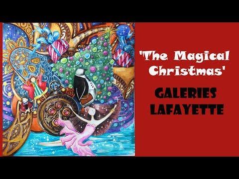 Colouring 'Magical Christmas' Galeries Lafayette / Раскраска Магия Рождества
