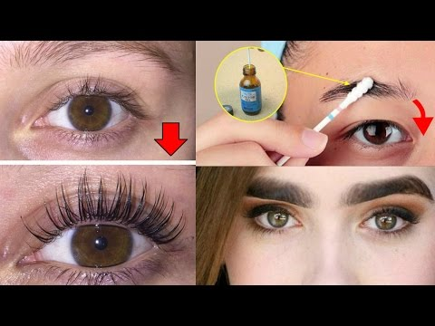 Thumbnail: How To Grow Long/Thicker Eyelashes & Eyebrows In a Week / How To Grow Eye Lashes
