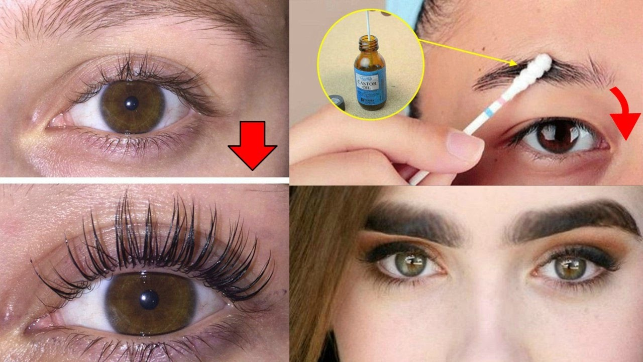 How To Grow Longthicker Eyelashes Eyebrows In A Week How To Grow Eye Lashes