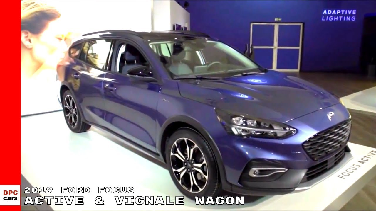 Ford Focus 2019 >> 2018 Ford Focus Active & Vignale Wagon - YouTube