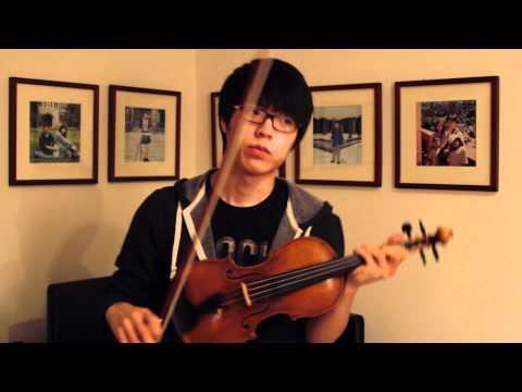 Christina Perri  A Thousand Years  Jun Sung Ahn Violin