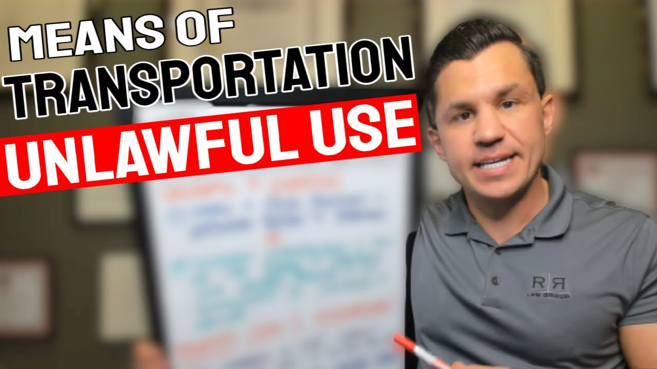 Unlawful Use Of Means Of Transportation Charges in Arizona