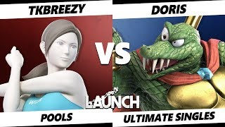 Launch Smash Ultimate - VGBC   TKBreezy (Wii Fit Trainer) VS Doris (King K. Rool) SSBU Pools