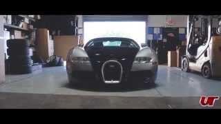 Cor Wheels Installed on the Bugatti Veyron
