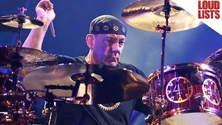 Neil Peart Best Drum Moments Rush Songs