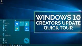 Windows 10 Creators Update Tour