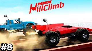 МАШИНКИ MMX HILL CLIMB 8 как ХОТ ВИЛС ГОНКИ игровой мультик про машинки монстр траки как ВСПЫШ