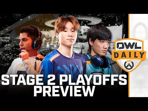 Gladiators vs. Uprising & Stage 2 Playoffs Preview - Overwatch League Daily