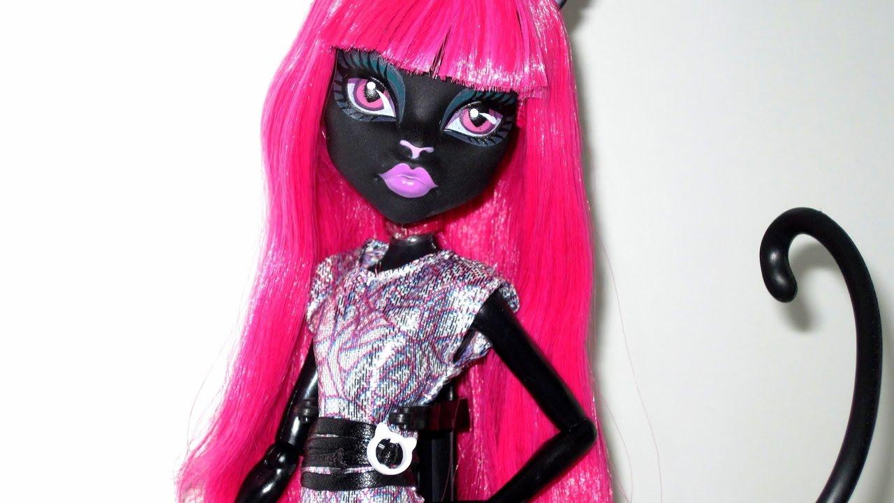 Картинки куклы монстр хай кэтти нуар