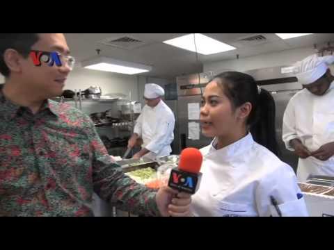 Chef Indonesia Mengajar Di AS - VOA Untuk NET TV