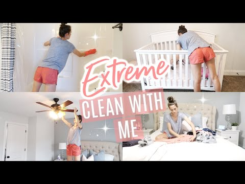 CLEAN WITH ME 2019 // CLEANING MOTIVATION // STAY AT HOME MOM CLEANING ROUTINE // SIMPLY ALLIE