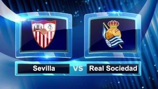 Video Gol Pertandingan Sevilla vs Real Sociedad