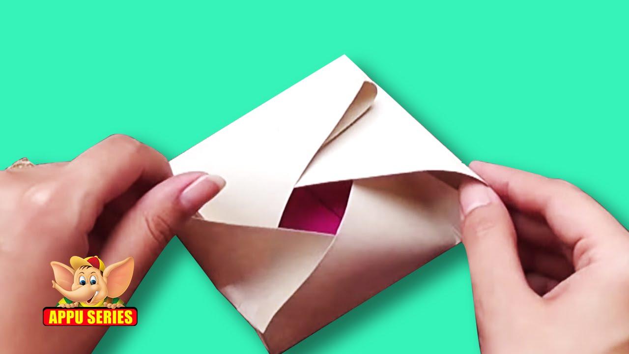origami japanese envelope youtube