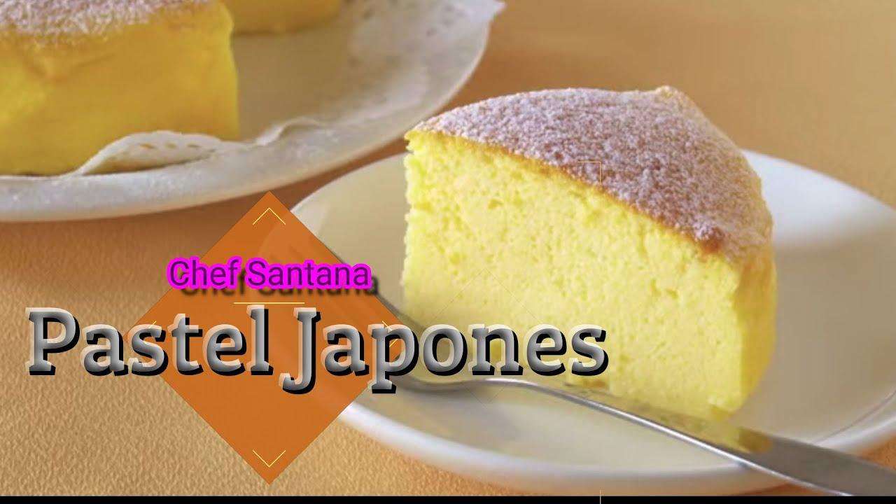 ✅ Pastel Japonés- Mi Receta - Chef Santana