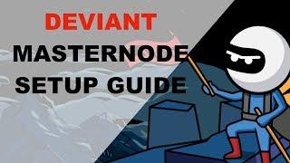 Deviant 마스터노드 만들기 (Deviant Masternode Setup)