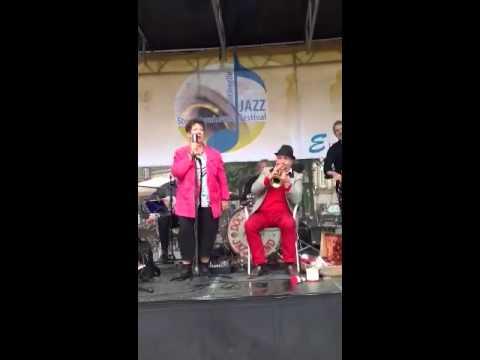 Jette Barth and Doc Houlind ,jazz festival copenhagen 2013