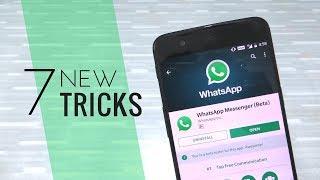 7 SECRET HIDDEN New WhatsApp Tricks NOBODY KNOWS! 2018 Latest WhatsApp Hidden Features