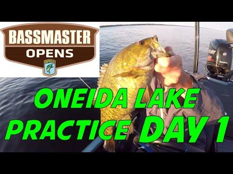 Bassmaster Opens Oneida Lake Practice!