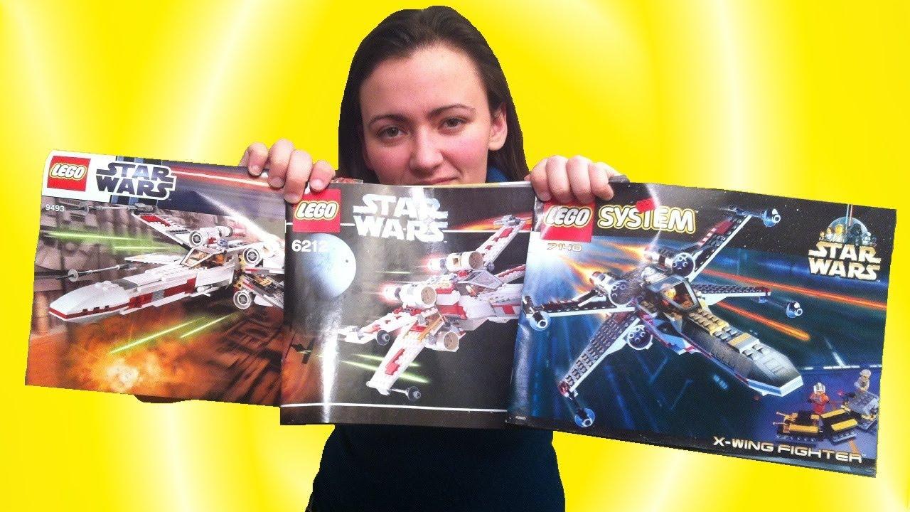Lego x wing comparison 7140 vs 6212 vs 9493 star wars review brickqueen youtube - Croiseur interstellaire star wars lego ...