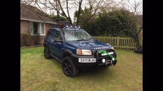 OFF ROAD LAND ROVER FREELANDER MODS (photos)
