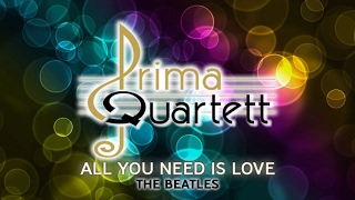 ALL YOU NEED IS LOVE by THE BEATLES String