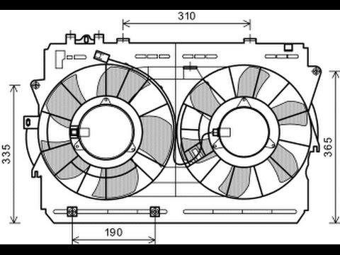 2006 350z Fuse Box Diagram Manual Circuito Electrico Del Ventilador Youtube