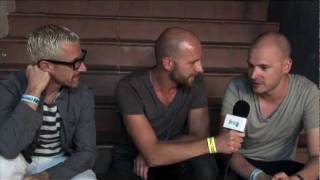 Lucky Life TV Interview Above Beyond At Cream Amnesia 2011