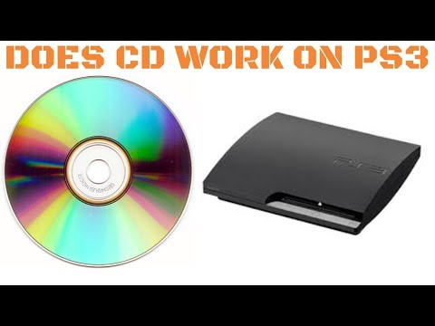 DO CD'S WORK ON PS3?