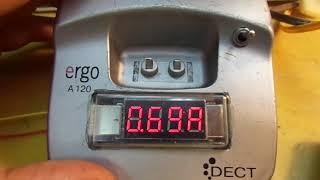 Автономный источник питания накала кинескопа. Собрал в корпус. usb voltage meter.