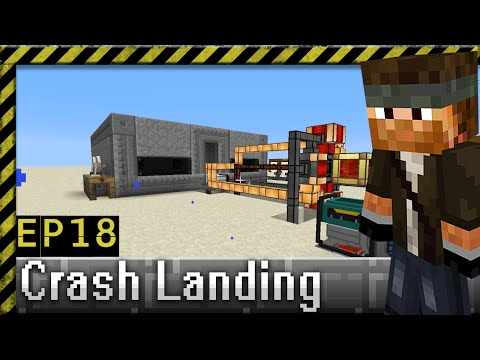 Playing with More Power | Crash Landing Modpack | Ep.18