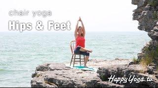 Chair Yoga for Feet & Hips | Happy Yoga with Sarah Starr