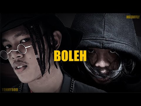 "MeerFly & Yonnyboii - ""Boleh"" [OFFICIAL LYRICS VIDEO]"