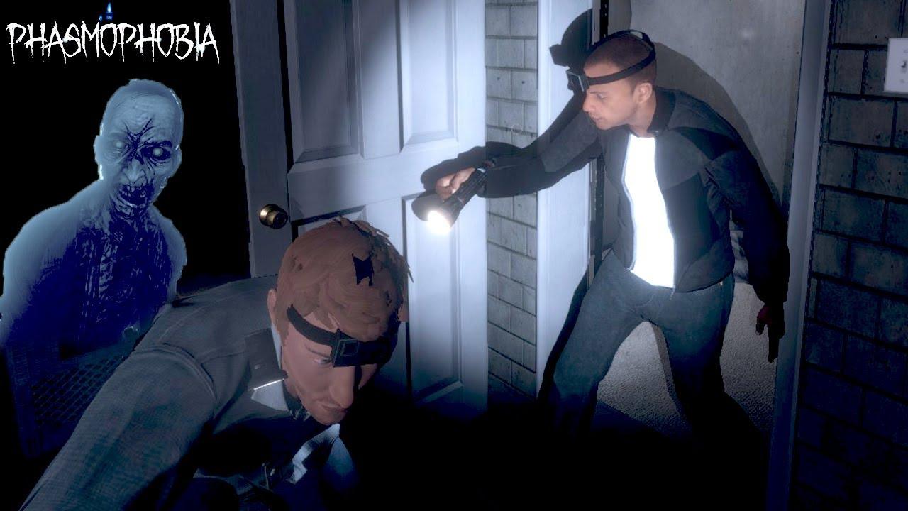 【2人実況】心霊現象が起きまくる家で「幽霊調査」をするホラーゲームでふざけまくる男達【Phasmophobia】