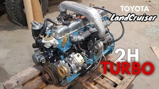 Land Cruiser BJ73, 2H TURBO CONVERSION