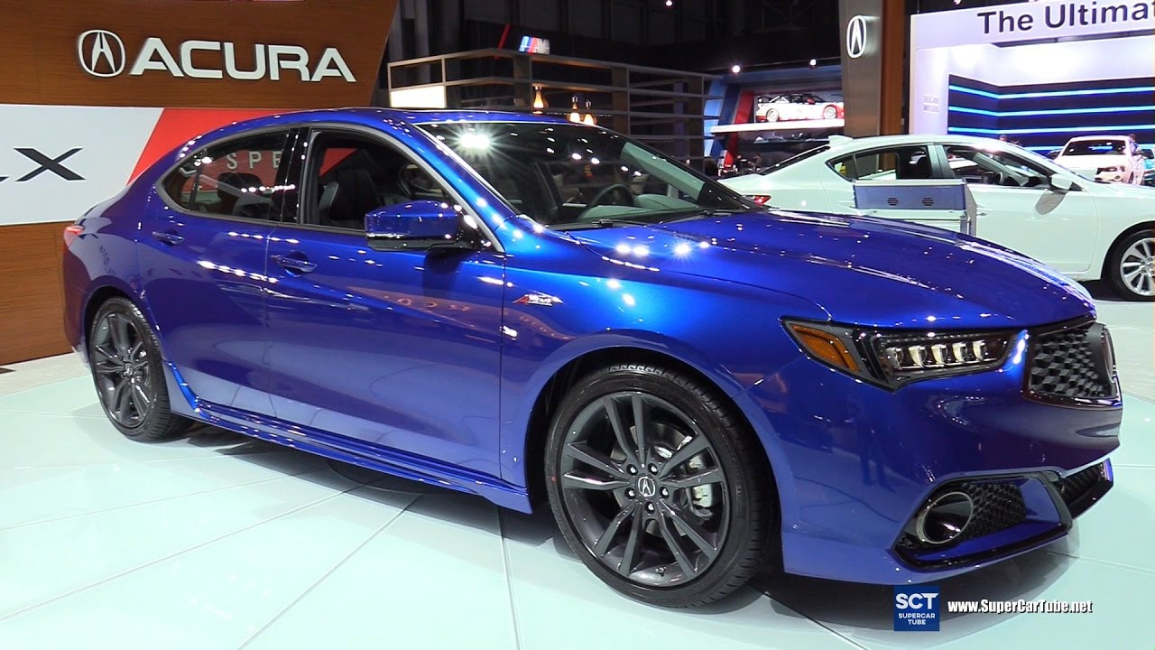 2018 Acura Tlx A Specs Exterior And Interior Walkaround Debut At