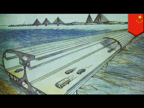 China planning to build world's longest undersea tunnel by 2026