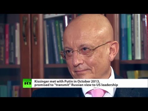 BUSINESS UNUSUAL? Sergey Karaganov, former foreign policy advisor to Russia's president