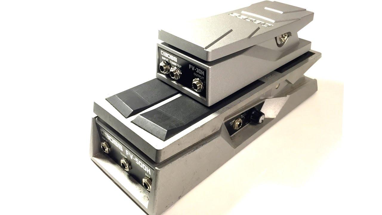 High Impedance Boss FV-500H Foot Volume Pedal