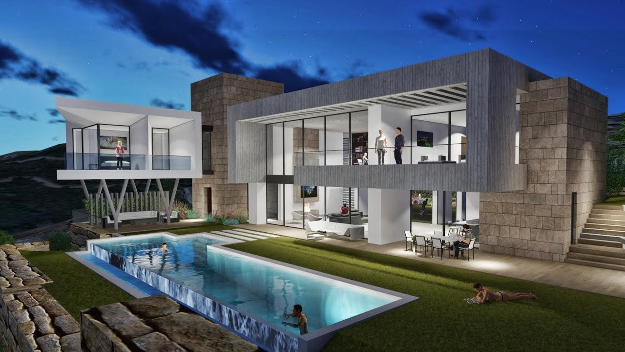 Villa Project In Los Arqueros Marbella Spain
